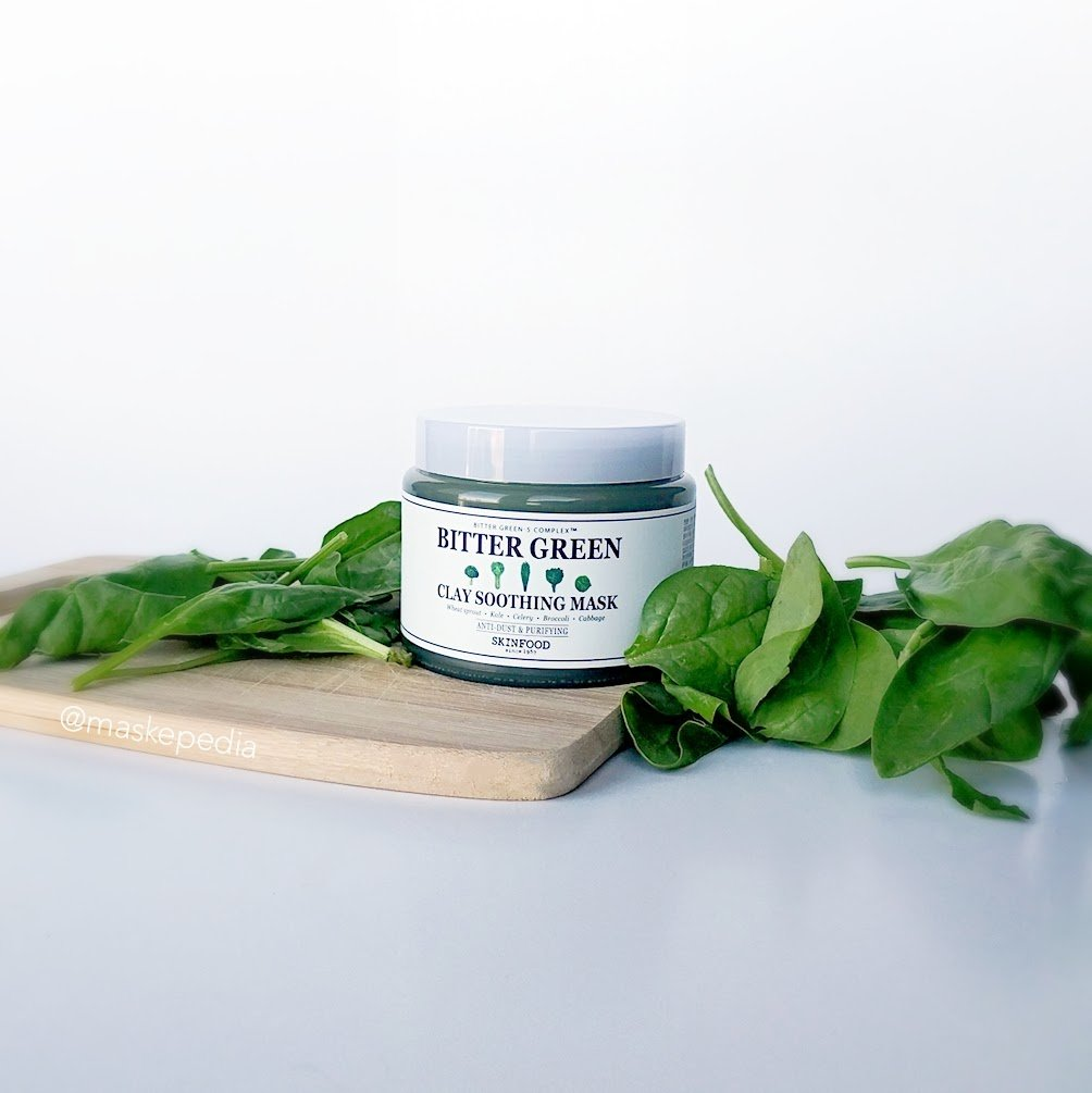 Skinfood Bitter Green Clay Soothing Mask