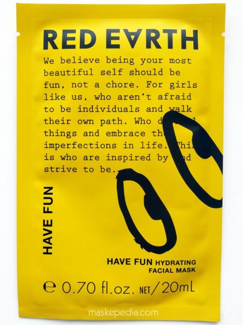 Red Earth Have Fun Hydrating Facial Mask