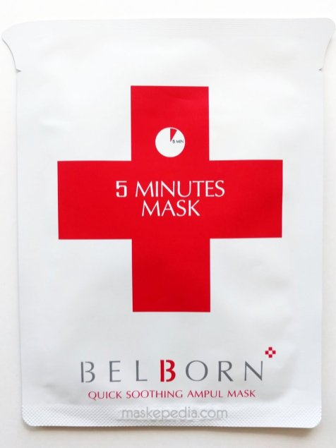Belborn 5 Minutes Quick Soothing Ampul Mask