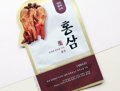Evercos Bogam Herbal Clinic Red Ginseng Sheet Mask