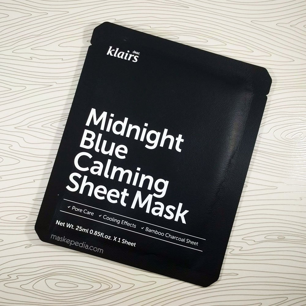 Midnight Blue Calming Sheet Mask by Klairs #17