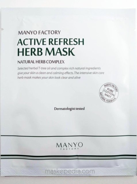 Manyo Factory Active Refresh Herb Mask