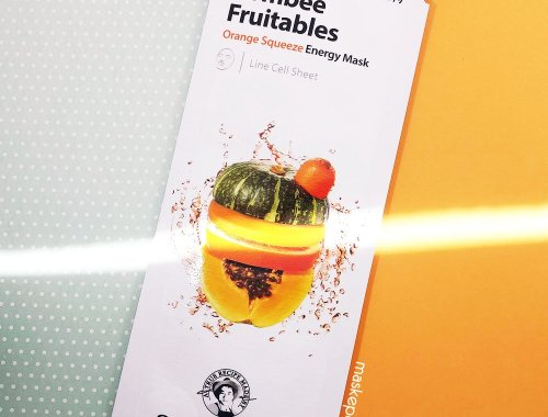Papa Recipe Bombee Fruitables Orange Squeeze Energy Mask