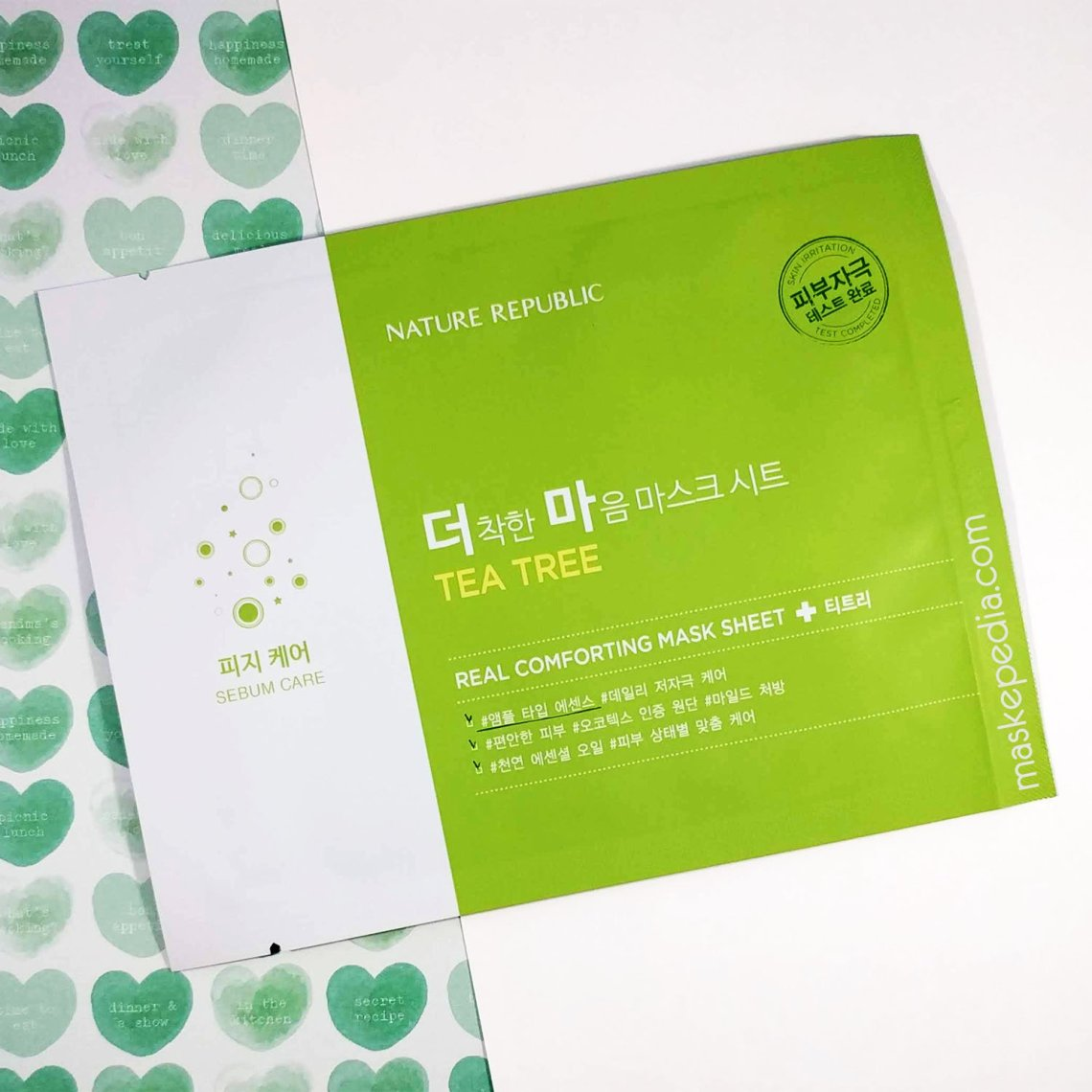 Nature Republic Real Comforting Mask Sheet - Tea Tree