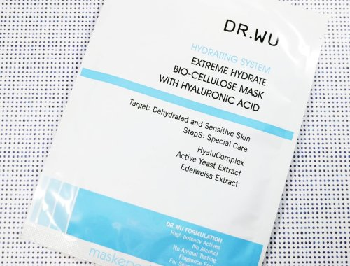 Dr. Wu Extreme Hydrate Bio-Cellulose Mask with Hyaluronic Acid