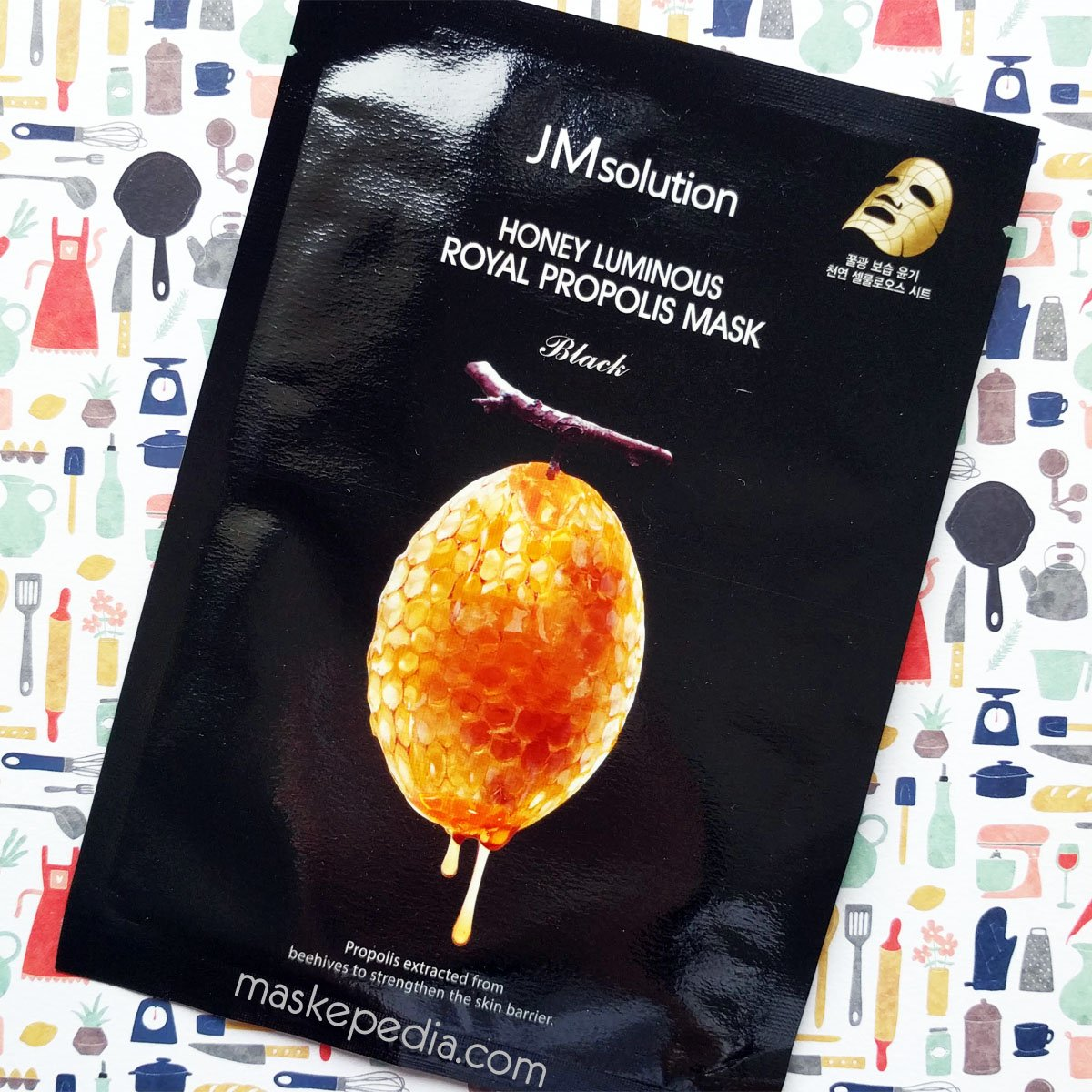 Review: JM Solution Honey Luminous Royal Propolis Mask ★★★★☆