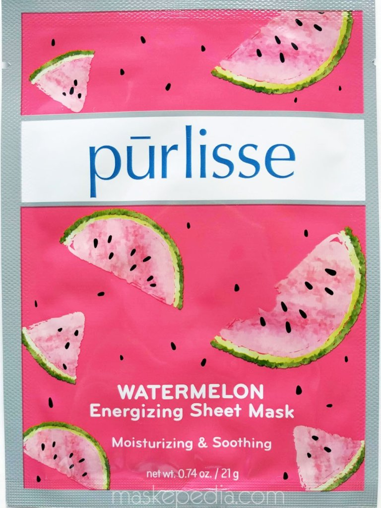 Purlisse Watermelon Energizing Sheet Mask
