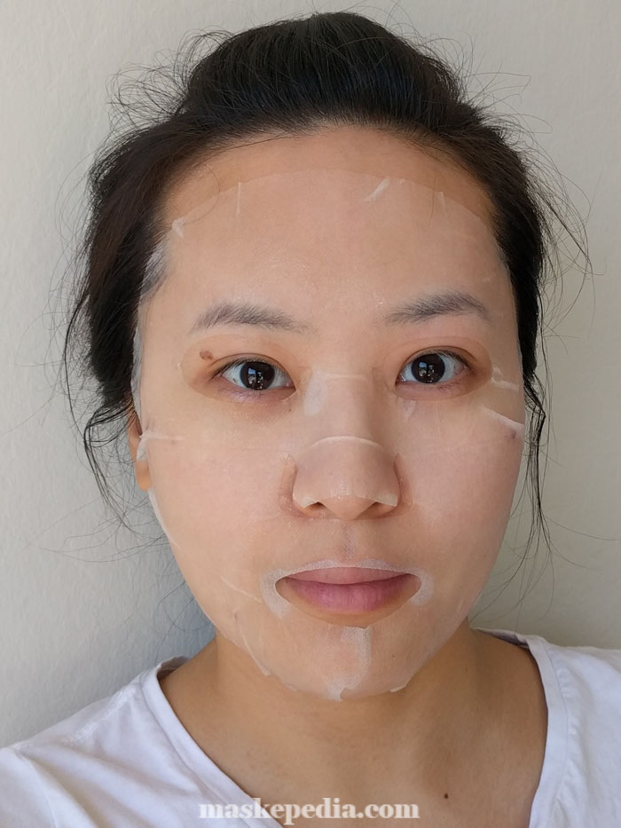 Oka Recipe Buckle Up The Pore Sheet Mask
