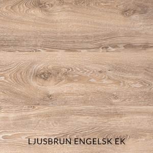 Träprov av ljusbrun engelsk ek