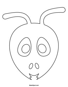 Printable Ant Mask
