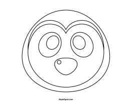 Printable Penguin Mask