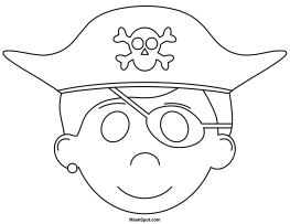 How to make a pirate mask out of paper
