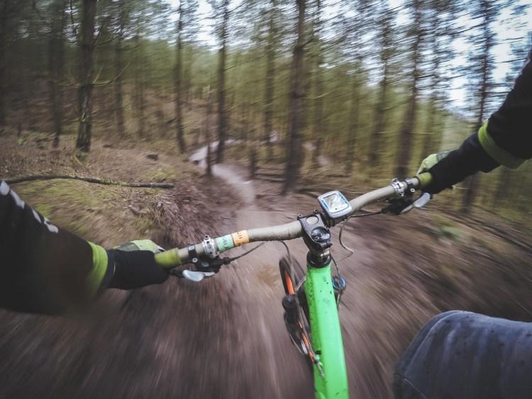 Mountainbike - roligare konditionsträning