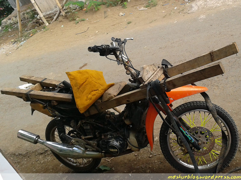 Motor Modifikasi Terkini Modifikasi Motor Ojek Padi