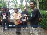 door prize fourteen adventure pada acara Bina Lingkungan dan Konservasi Sempadan Sungai Serayu desa Pegalongan Patikraja (8)