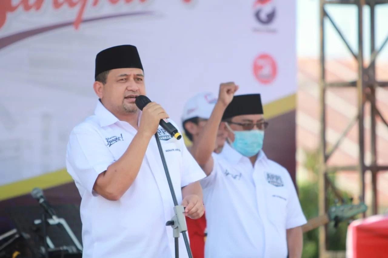 Appi-Rahman Janji Wakafkan Diri agar Makassar Bangkit