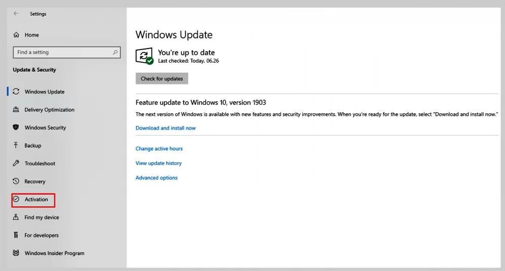 Cara aktivasi windows 10 pro