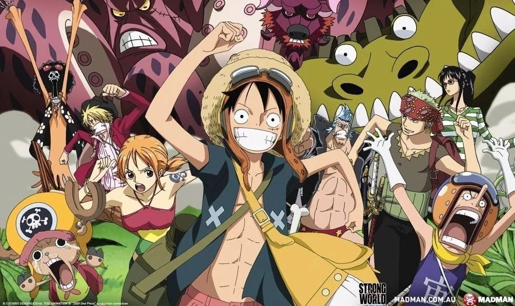 One Piece Film: Strong World( 2009)