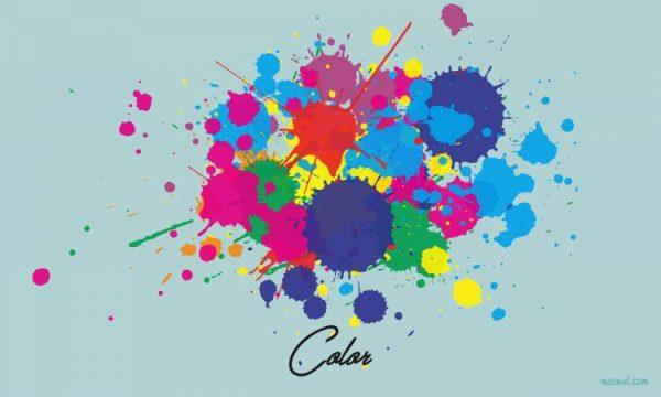 pengertian desain grafis - color