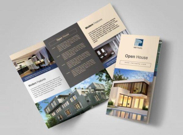 contoh brosur perumahan