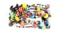 armband, Erupción 12, Guate!Guate, Guatemala, hantverk, Masomenos, multicolour, regnbåge, smycke