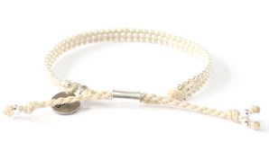 armband, beige, Fair Trade, Guatemala, hantverk, kyss, P.S., silver, smycke, Wakami