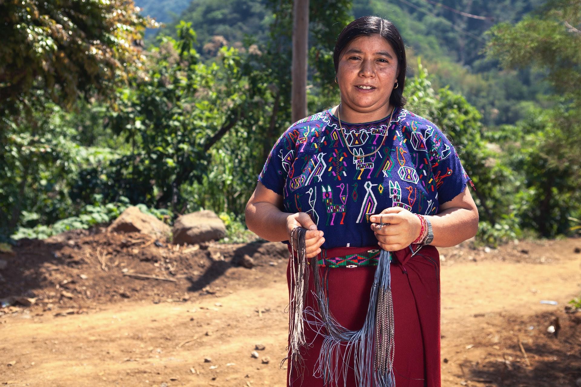 Doña María Garcia ~ Artesanias Ixil, Guatemala. Foto: Garret Byrum