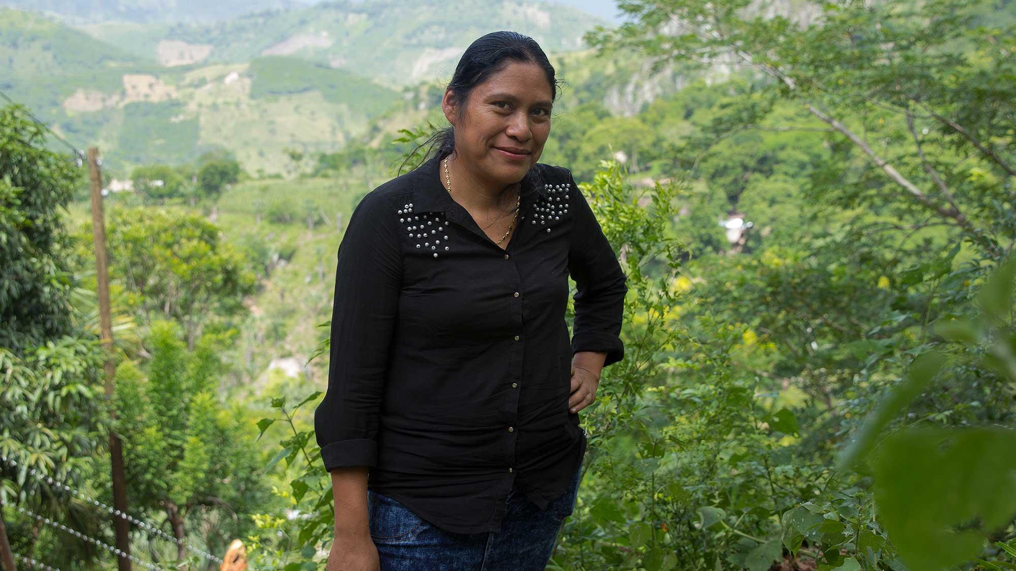 Florentina i Sembra Sonrisas, Guatemala
