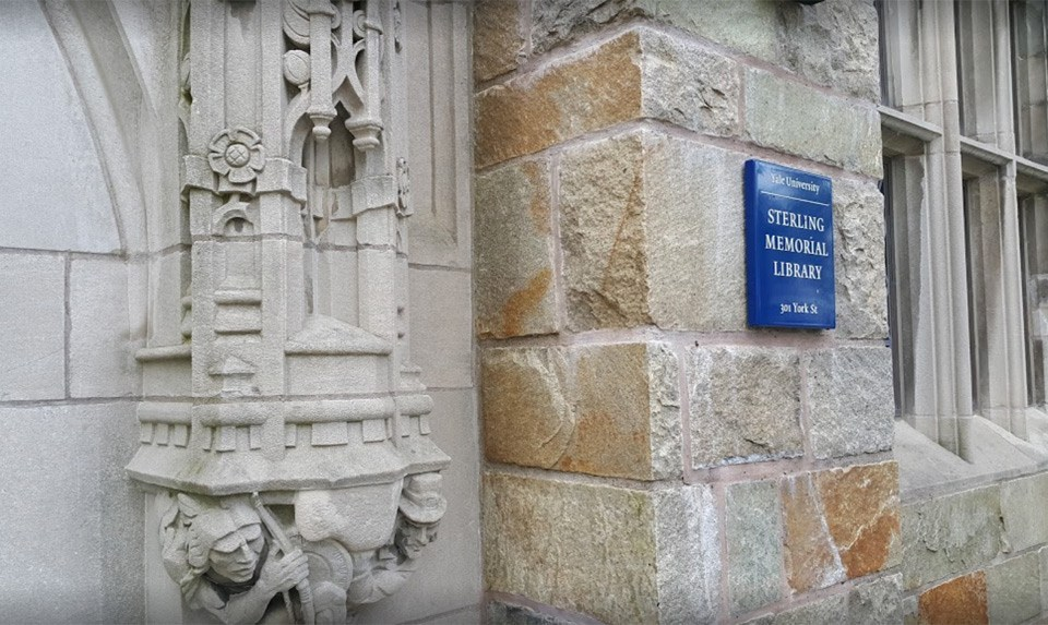 Yale: Sterling Memorial Library