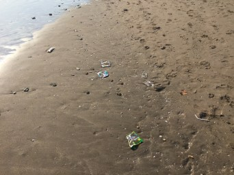 so much plastic on the beaches