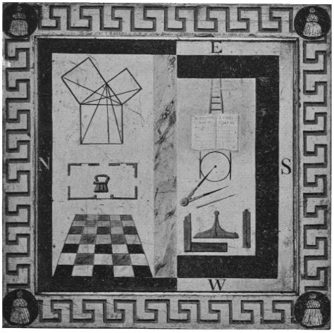 la cámara de en medio tapiz de logia