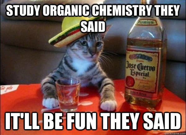 organic chemistry for nutrition students