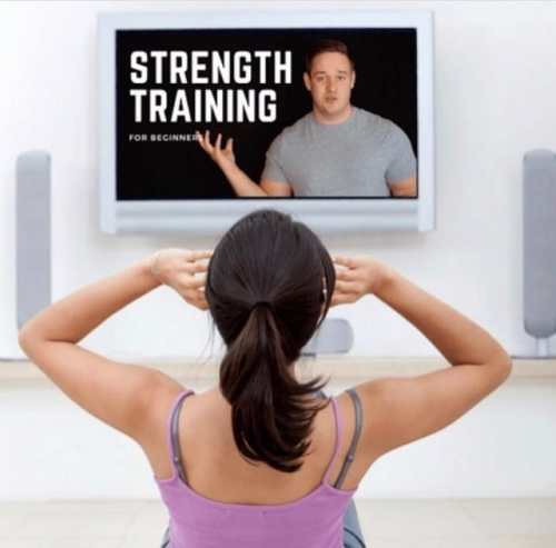 strength training course for beginners home personal trainer mason woodruff
