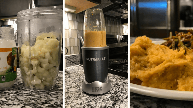 how to make cauliflower mashed potatoes at home
