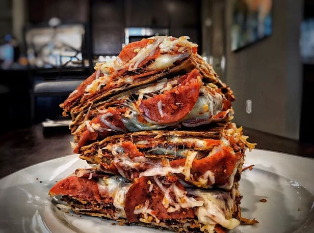 High-Protein Double Decker Pizza: MasonFit Monthly