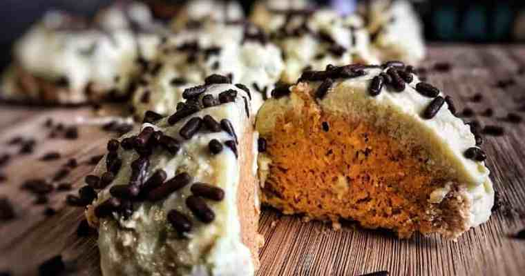 No Bake Pumpkin Cheesecake Protein Bites: MasonFit Monthly Recipe