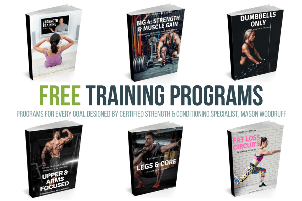 free strength training programs mason woodruff little rock personal trainer