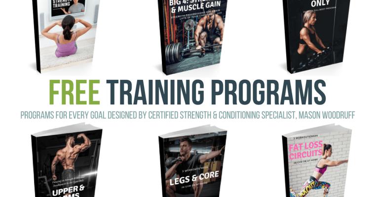 Free Training Programs by Mason Woodruff