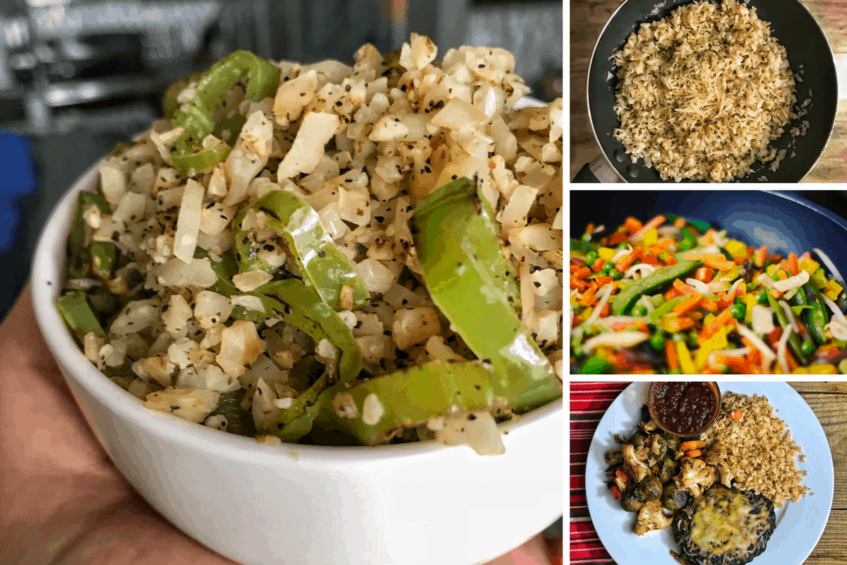 7 Low Calorie Cauliflower Fried Rice Recipes That Are Easy to Make