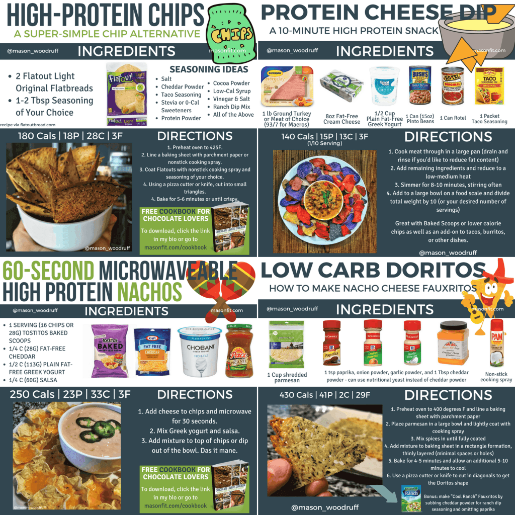 healthier chips and dip alternative snack recipes