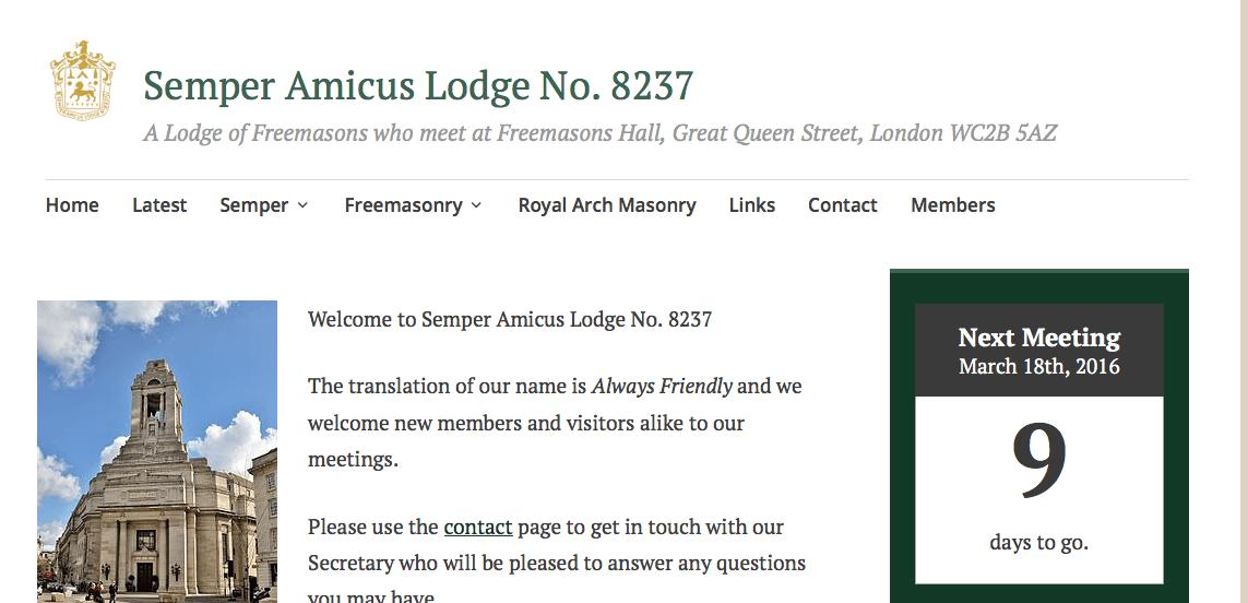Semper Amicus lodge no 8237