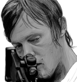 Daryl sketch