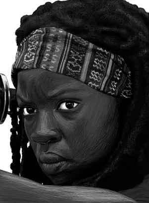 Michonne sketch