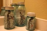 Mason Jar Photo Frames - Mason Jar Crafts