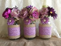 Homemade Mason Jar Centerpieces For Bridal Shower - Mason ...