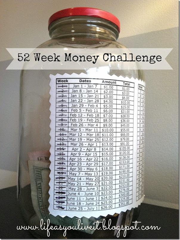 $1 savings challenge