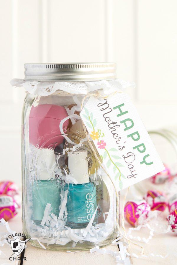 Mothers Day Tea Time Mason Jar Gift  Mason Jar Crafts Love