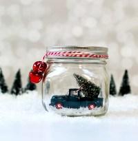 Mason Jar Snow Globes: Vintage Cars & Trucks - Mason Jar ...
