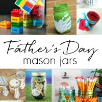 Father's Day Mason Jar Gift Ideas