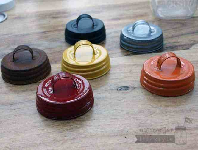 Mason Jar Lids Decorative Canning Caps Fit Regular Mouth Jars Gingham Design Pack Of 6 Ship From Usa Brand Orchard Road Com